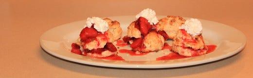 Φράουλα shortcake 3 Στοκ εικόνες με δικαίωμα ελεύθερης χρήσης