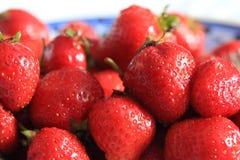 Φράουλες από την Πολωνία Στοκ εικόνες με δικαίωμα ελεύθερης χρήσης