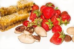 φράουλες ζωής ακόμα Στοκ εικόνα με δικαίωμα ελεύθερης χρήσης