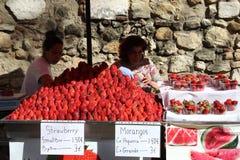 Φράουλες της Λισσαβώνας Στοκ εικόνες με δικαίωμα ελεύθερης χρήσης