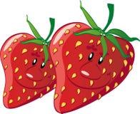 Φράουλες ελεύθερη απεικόνιση δικαιώματος