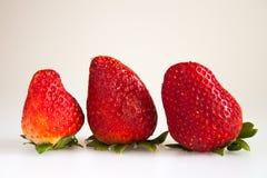 Φράουλες Στοκ Εικόνες