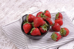 Φράουλες στοκ φωτογραφία με δικαίωμα ελεύθερης χρήσης