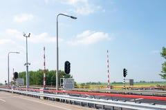 Φράχτης Margriet πριγκηπισσών σε Lemmer στις Κάτω Χώρες στοκ εικόνα με δικαίωμα ελεύθερης χρήσης