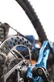 Φρένο δίσκων Mountainbike Στοκ φωτογραφία με δικαίωμα ελεύθερης χρήσης