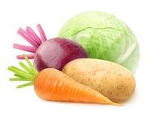 φρέσκα απομονωμένα λαχανικά Στοκ φωτογραφία με δικαίωμα ελεύθερης χρήσης