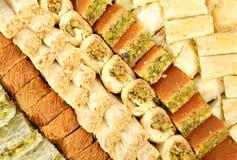 Φρέσκα αραβικά γλυκά Στοκ φωτογραφία με δικαίωμα ελεύθερης χρήσης