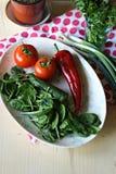 φρέσκα λαχανικά άνοιξη Στοκ εικόνα με δικαίωμα ελεύθερης χρήσης