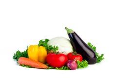 Φρέσκα λαχανικά απομονωμένος Στοκ φωτογραφίες με δικαίωμα ελεύθερης χρήσης