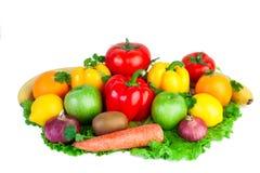 Φρέσκα λαχανικά απομονωμένος Στοκ φωτογραφία με δικαίωμα ελεύθερης χρήσης