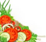 φρέσκα λαχανικά ομάδας Στοκ Φωτογραφία