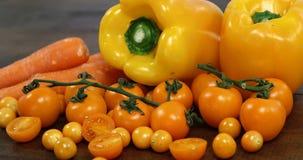 φρέσκα λαχανικά ποικιλία&si απόθεμα βίντεο