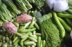 Φρέσκα λαχανικά σε έναν στάβλο Στοκ εικόνες με δικαίωμα ελεύθερης χρήσης