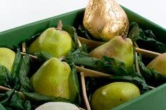 φρέσκα αχλάδια Στοκ Εικόνα