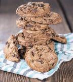 Φρέσκα γίνοντα μπισκότα Στοκ Εικόνες