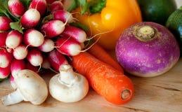 φρέσκα επιτραπέζια λαχανικά κουζινών Στοκ Φωτογραφίες