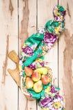Φρέσκα εποχιακά αχλάδια στο ξύλινο backround Στοκ φωτογραφία με δικαίωμα ελεύθερης χρήσης