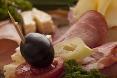 Φρέσκα εύγευστα σάντουιτς Στοκ Εικόνες
