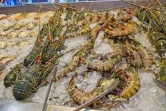 Φρέσκα θαλασσινά, Ταϊλάνδη Στοκ Φωτογραφία