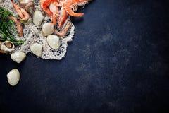 φρέσκα θαλασσινά στοκ φωτογραφία