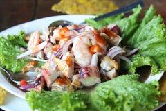 Φρέσκα θαλασσινά Ceviche στοκ φωτογραφία με δικαίωμα ελεύθερης χρήσης