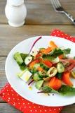 φρέσκα ιαπωνικά λαχανικά σαλάτας τροφίμων Στοκ Εικόνα