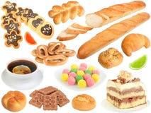 φρέσκα καθορισμένα γλυκά ψωμιού Στοκ φωτογραφία με δικαίωμα ελεύθερης χρήσης