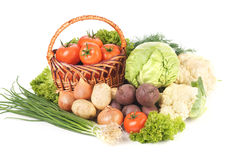 φρέσκα λαχανικά κατατάξεων Στοκ φωτογραφία με δικαίωμα ελεύθερης χρήσης