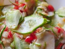 φρέσκα λαχανικά σαλάτας Στοκ φωτογραφίες με δικαίωμα ελεύθερης χρήσης