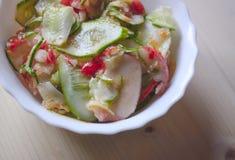 φρέσκα λαχανικά σαλάτας Στοκ Εικόνα