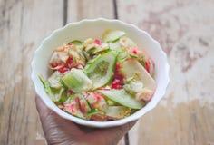 φρέσκα λαχανικά σαλάτας Στοκ Εικόνες