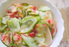 φρέσκα λαχανικά σαλάτας Στοκ εικόνα με δικαίωμα ελεύθερης χρήσης
