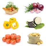 φρέσκα λαχανικά συλλογή&s Στοκ φωτογραφία με δικαίωμα ελεύθερης χρήσης