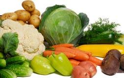 φρέσκα λαχανικά σωρών Στοκ Φωτογραφίες