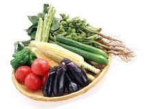 φρέσκα λαχανικά Στοκ Εικόνες