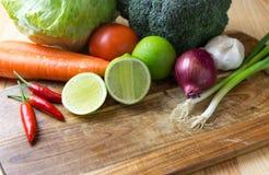 φρέσκα μικτά λαχανικά Στοκ Εικόνες
