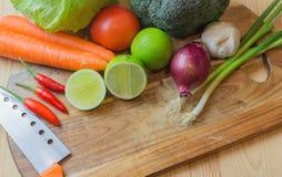 φρέσκα μικτά λαχανικά Στοκ Εικόνα