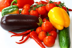 φρέσκα νόστιμα λαχανικά Στοκ Εικόνα