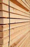 Φρέσκα ξύλινα στηρίγματα Στοκ φωτογραφία με δικαίωμα ελεύθερης χρήσης
