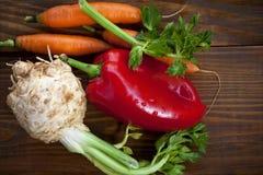 Φρέσκα οργανικά λαχανικά Στοκ εικόνες με δικαίωμα ελεύθερης χρήσης