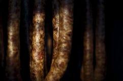 Φρέσκα λουκάνικα χοιρινού κρέατος Στοκ Φωτογραφία