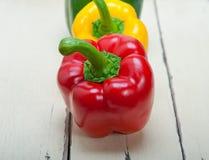 φρέσκα πιπέρια κουδουνιώ&n Στοκ φωτογραφία με δικαίωμα ελεύθερης χρήσης