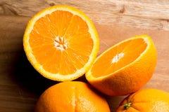 φρέσκα πορτοκάλια τρία Στοκ φωτογραφίες με δικαίωμα ελεύθερης χρήσης