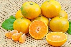 φρέσκα πορτοκάλια Στοκ Εικόνα