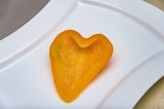 φρέσκα πορτοκαλιά πιπέρια Στοκ Φωτογραφίες
