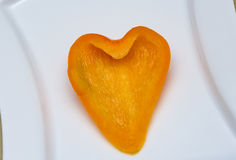 φρέσκα πορτοκαλιά πιπέρια Στοκ φωτογραφία με δικαίωμα ελεύθερης χρήσης