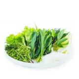 φρέσκα πράσινα λαχανικά Στοκ εικόνες με δικαίωμα ελεύθερης χρήσης