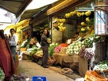 φρέσκα προϊόντα αγοράς της &Io στοκ φωτογραφία