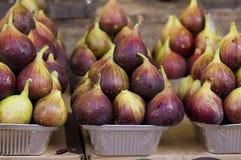 Φρέσκα σύκα στην αγορά Στοκ φωτογραφία με δικαίωμα ελεύθερης χρήσης