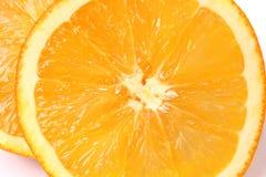Φρέσκα τεμαχισμένα πορτοκάλια Στοκ εικόνες με δικαίωμα ελεύθερης χρήσης
